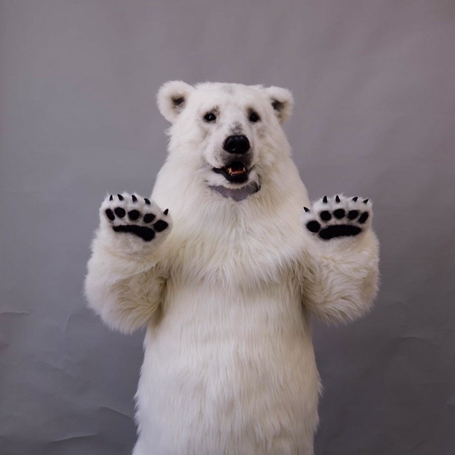 2020魔人社熊八先生北極熊裝製作Polar bear costume
