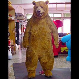 肯德基KFC 遙控機械棕熊裝 Animatronic Brown Bear Suit