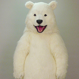 貓熊變白 Animatronic White Panda Suit