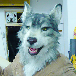 狼人機械頭套 Full Head Animatronic Wolf Mask (TVC)