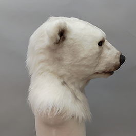 魔人社2018遙控北極熊面具 mostudio animatronic polar bear mask