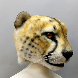 2017魔人社獵豹面具製作 Cheetah mask